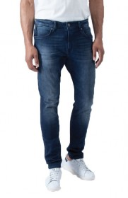 Mavi Herren Jeans James - Skinny Fit - Blau - Ink Brushed Ultra Move