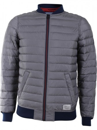 Tom Tailor Denim Herren Bomberjacke mit Steppung
