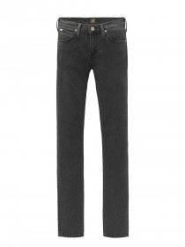 Lee Damen Jeans Scarlett High - Skinny Fit  - Schwarz - Charcoal Powder