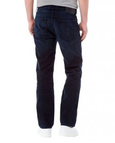 Cross Herren Jeans Antonio Relax Fit - Blau - Blue Black