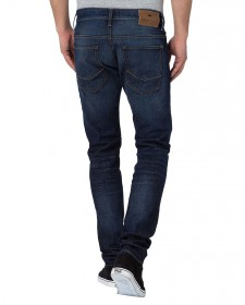 Cross Herren Jeans 939 Tapered Fit - Blau - Dirty Blue