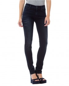 Bild 1 - Cross Damen Jeans Anya - Slim Fit - Blau - Blue Black