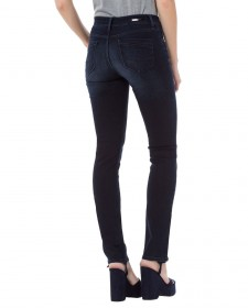 Bild 2 - Cross Damen Jeans Anya - Slim Fit - Blau - Blue Black