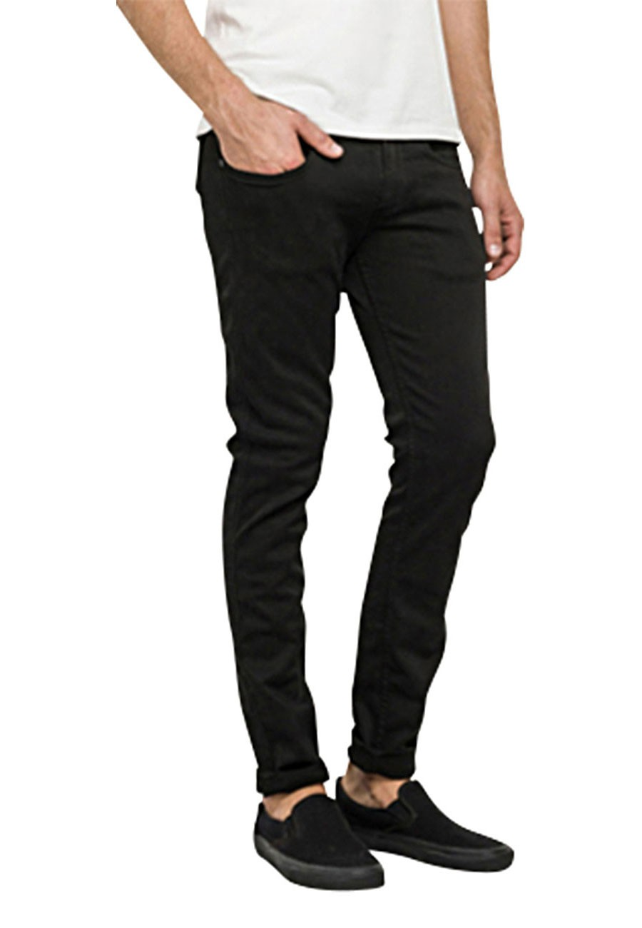 replay herren jeans anbass slim fit schwarz black. Black Bedroom Furniture Sets. Home Design Ideas