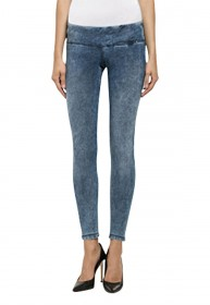 Replay Damen Jeans Jeggings Hyperskin - Skinny Fit - Blau - Marble
