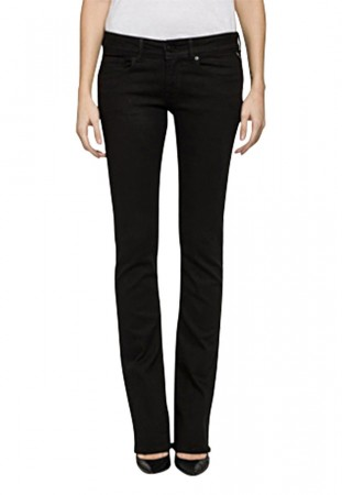 Replay Damen Jeans Rearmy - Bootcut - Schwarz - Black Denim