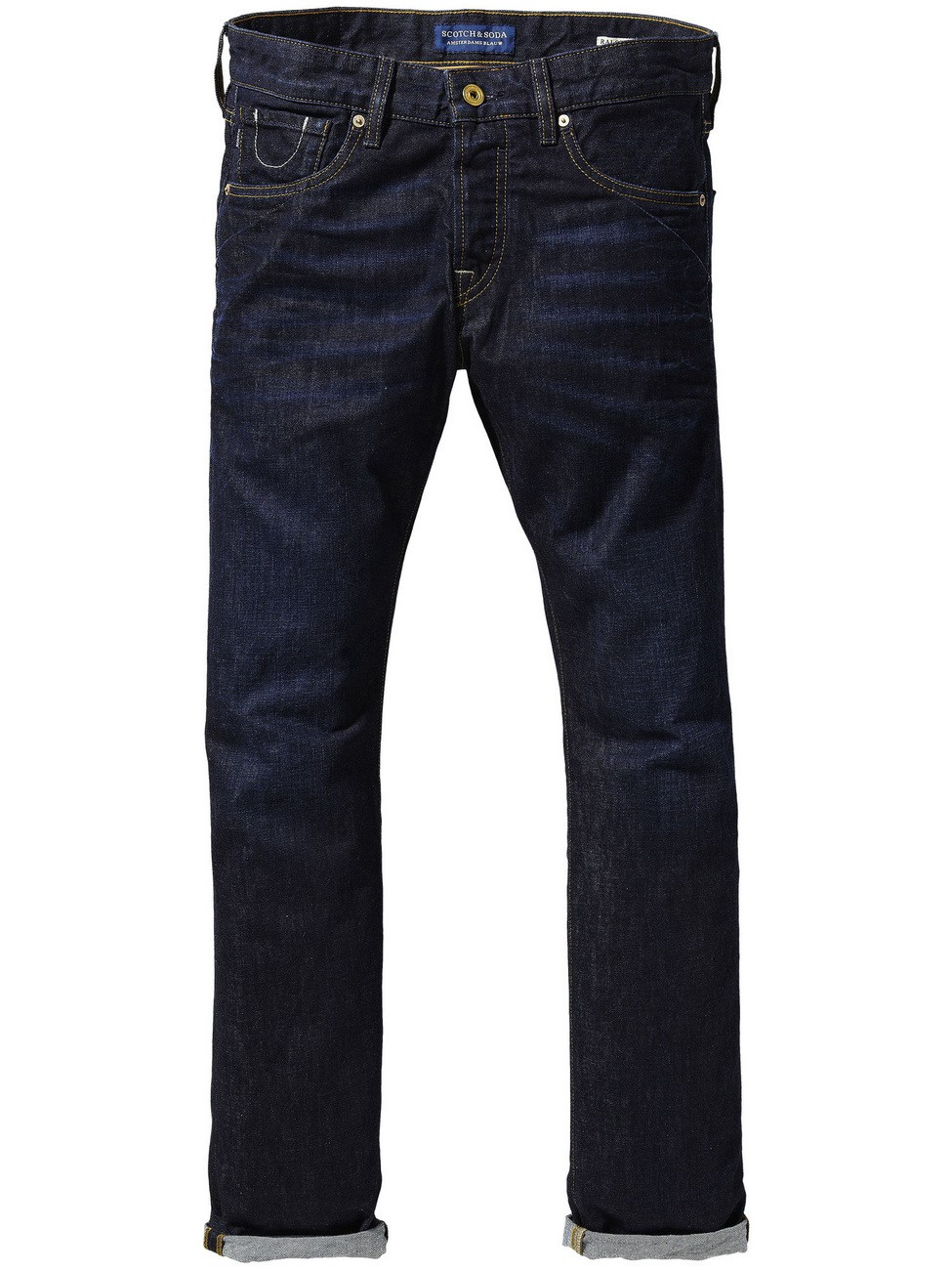 Scotch & Soda Herren Jeans Ralston Touchdown - Slim Fit - Blau - Dark Blue