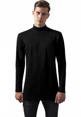 Urban Classics Herren Sweater Long Open Edge Turtleneck Crew
