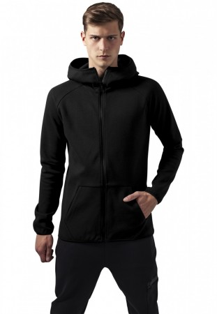 Urban Classics Herren Sweatjacket Athletic High Neck Interlock Zip Hoody