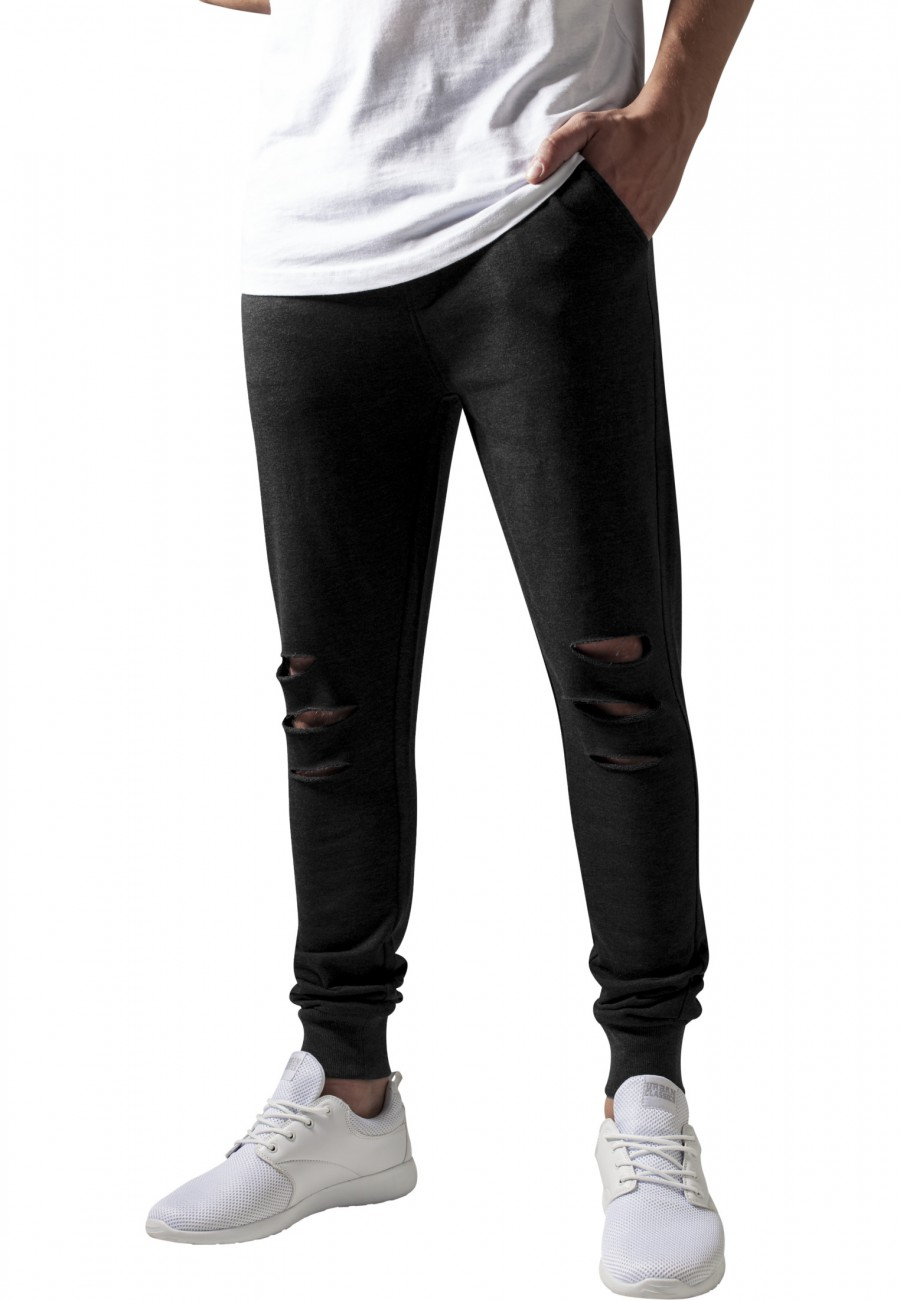 Urban Classics Herren Sweatpants Cutted Terry