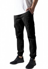 Bild 1 - Urban Classics Herren Sweatpants Washed Cargo Twill Jogging Pants