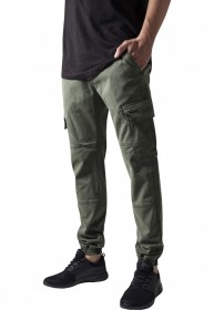 Bild 3 - Urban Classics Herren Sweatpants Washed Cargo Twill Jogging Pants