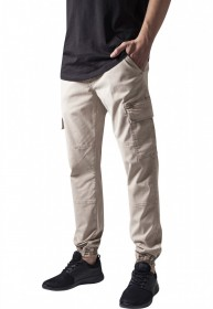 Bild 4 - Urban Classics Herren Sweatpants Washed Cargo Twill Jogging Pants