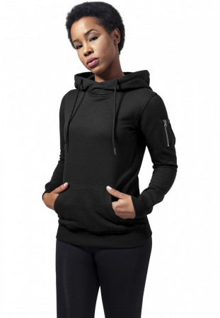 Urban Classics Damen Sweater Ladies Bomber Hoody