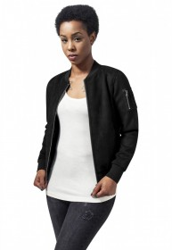Bild 1 - Urban Classics Damen Jacke Ladies Imitation Suede Bomber Jacket