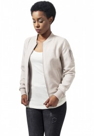 Bild 3 - Urban Classics Damen Jacke Ladies Imitation Suede Bomber Jacket