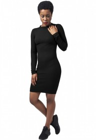 Bild 1 - Urban Classics Damen Kleid Ladies Rib Dress