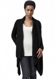 Urban Classics Damen Strickjacke Ladies Knit Feather Cardigan
