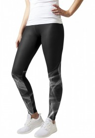 Urban Classics Damen Leggings Smoke