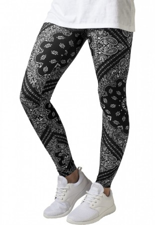 Urban Classics Damen Leggings Bandana