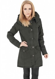 Bild 3 - Urban Classics Damen Jacke Ladies Garment Washed Long Parka