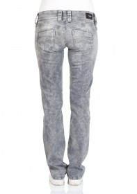 Pepe Jeans Damen Jeans Venus - Regular Fit - Grau - Dapple Grey