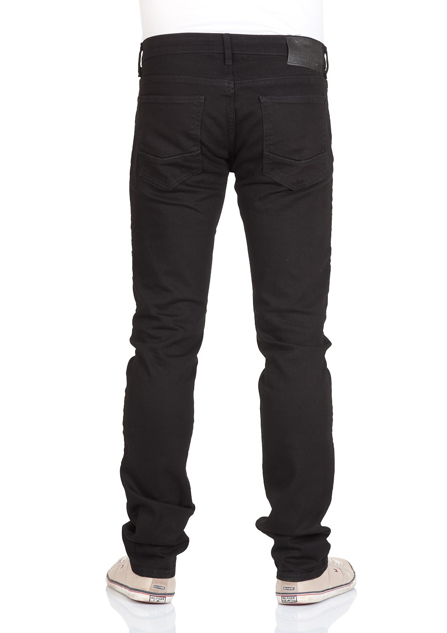 cross herren jeans johnny slim fit schwarz black kaufen jeans direct de. Black Bedroom Furniture Sets. Home Design Ideas