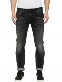 Replay Herren Jeans Anbass - Slim Fit - Schwarz - Black