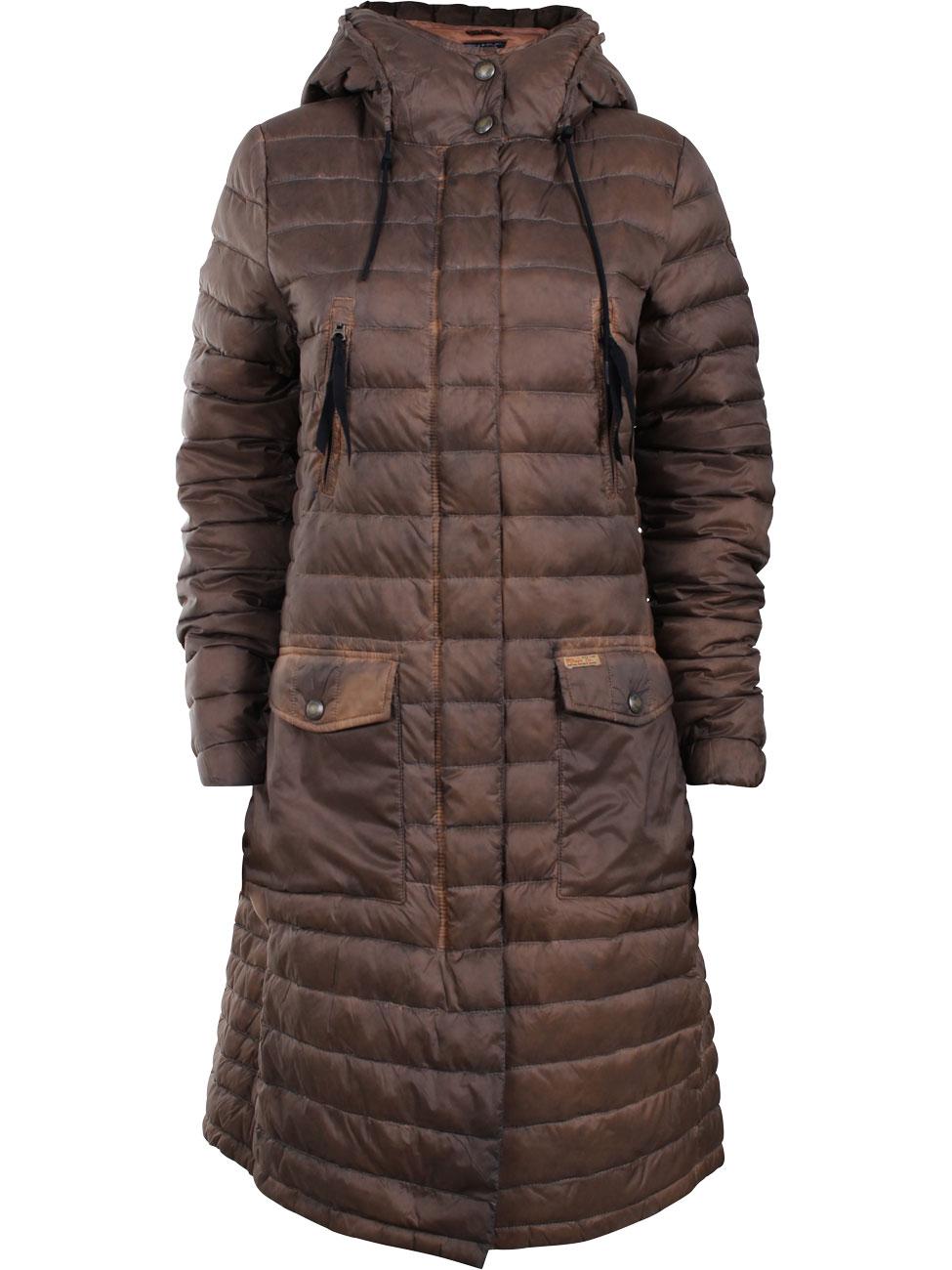 khujo damen mantel rinara mit kapuze kaufen jeans direct de. Black Bedroom Furniture Sets. Home Design Ideas