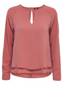 Only Damen Top onlMARIANA MYRINA SOLID L/S