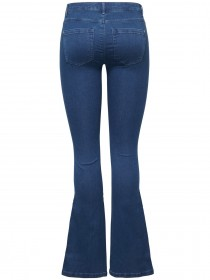 Only Damen Jeans onlROYAL REG SWEET FLARED JEANS PIM867 - Flare Fit - Blau - Dark Blue Denim