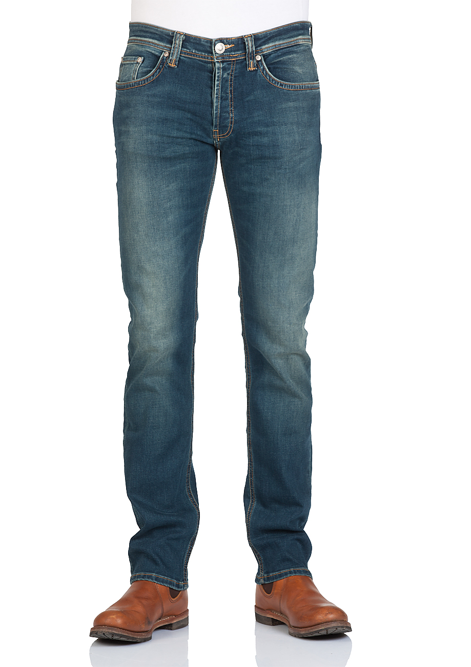 ltb herren jeans hollywood slim straight blau verdant wash ebay. Black Bedroom Furniture Sets. Home Design Ideas