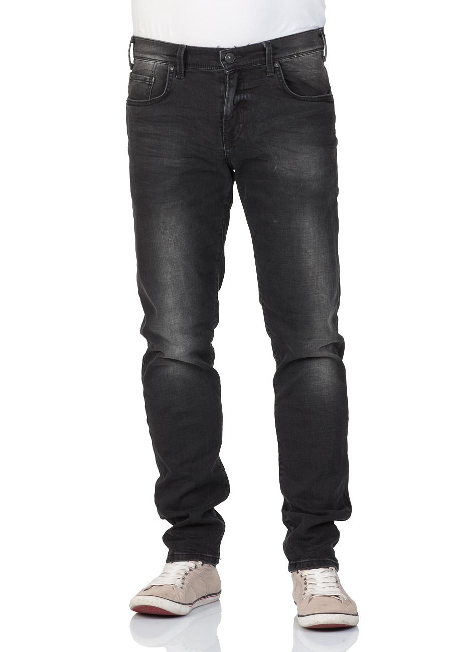 ltb men 39 s jeans diego slim tapered fit black beca wash ebay. Black Bedroom Furniture Sets. Home Design Ideas