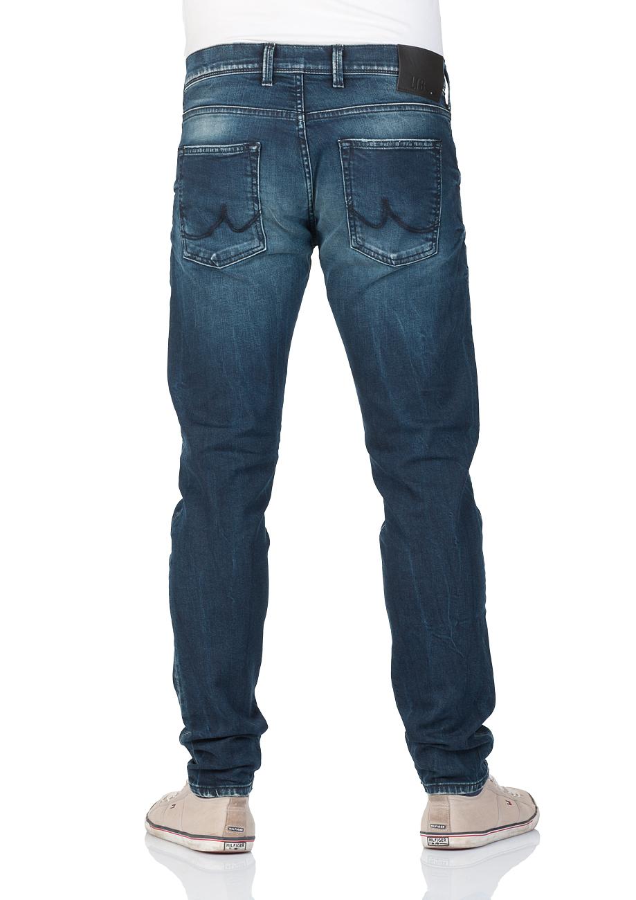 ltb herren jeans diego slim tapered fit blau ekvator. Black Bedroom Furniture Sets. Home Design Ideas