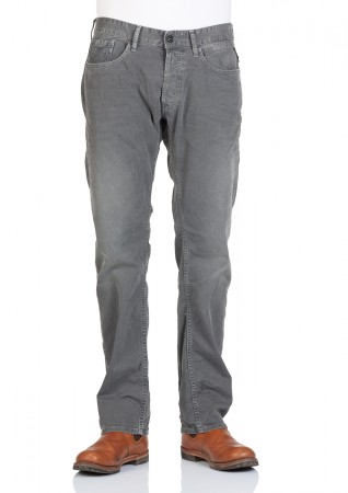 Replay Herren Jeans Waitom Regular Fit - Slim Leg - Grau - Dark Grey