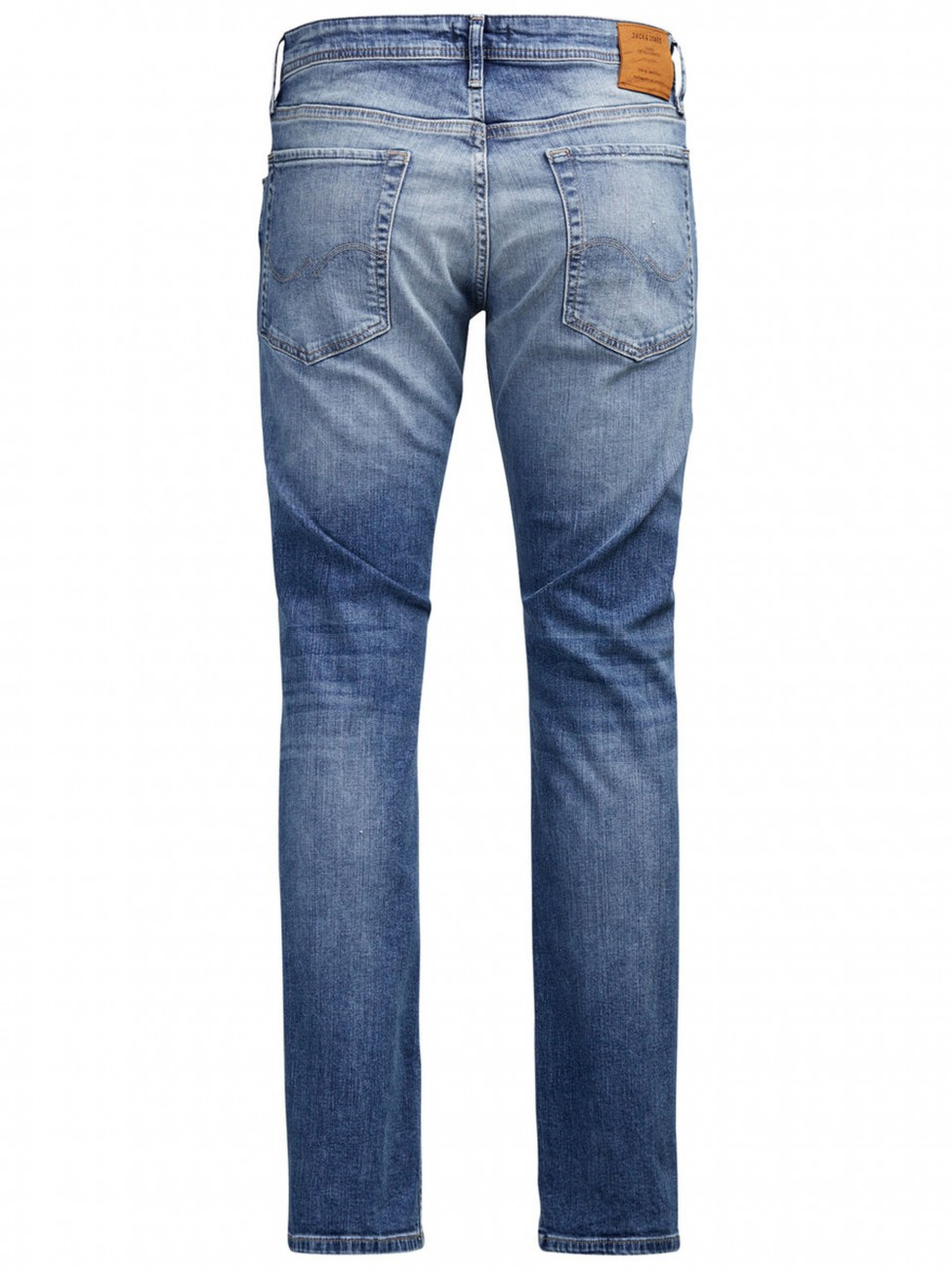 Jack & Jones Herren Jeans JJICLARK JJORIGINAL JJ 993 - Regular Fit - Blue Denim