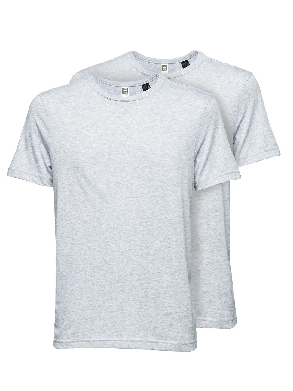 G-Star Herren Basic T-Shirt Rundhals 2er Pack