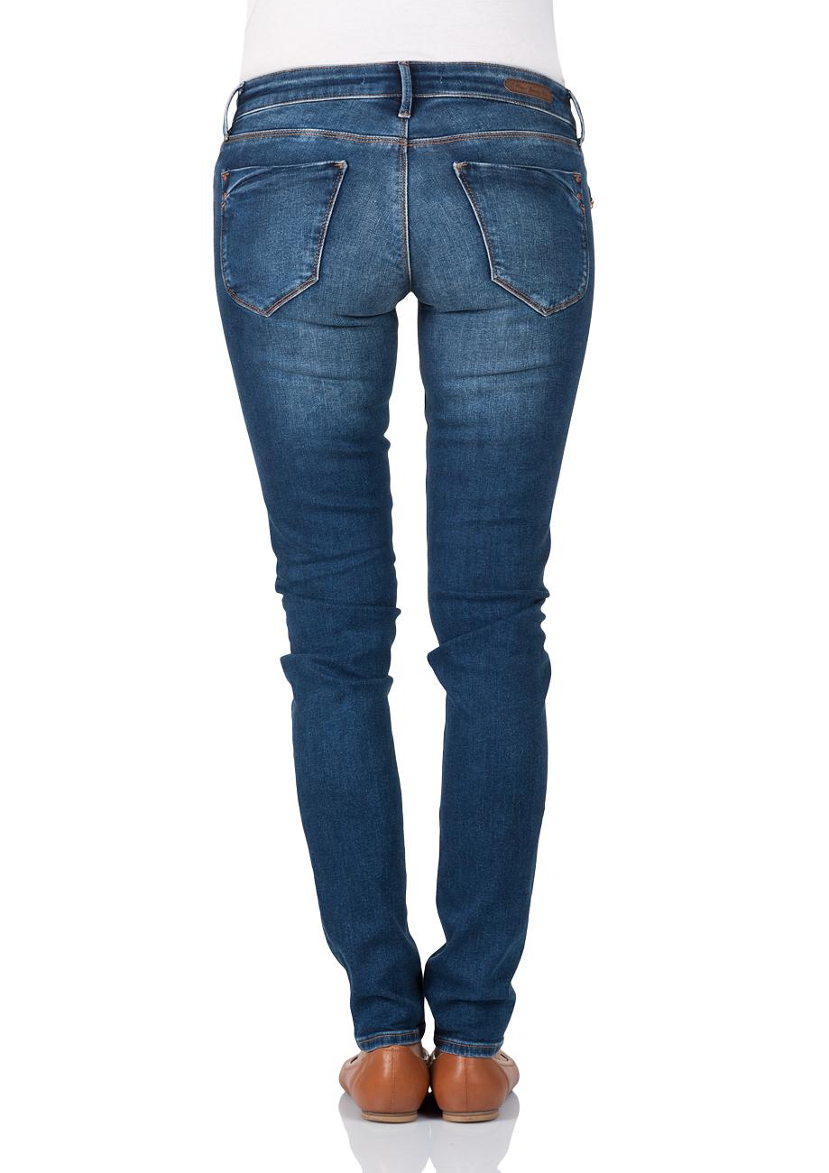 mavi damen jeans serena skinny fit blau dark used glam kaufen jeans direct de. Black Bedroom Furniture Sets. Home Design Ideas