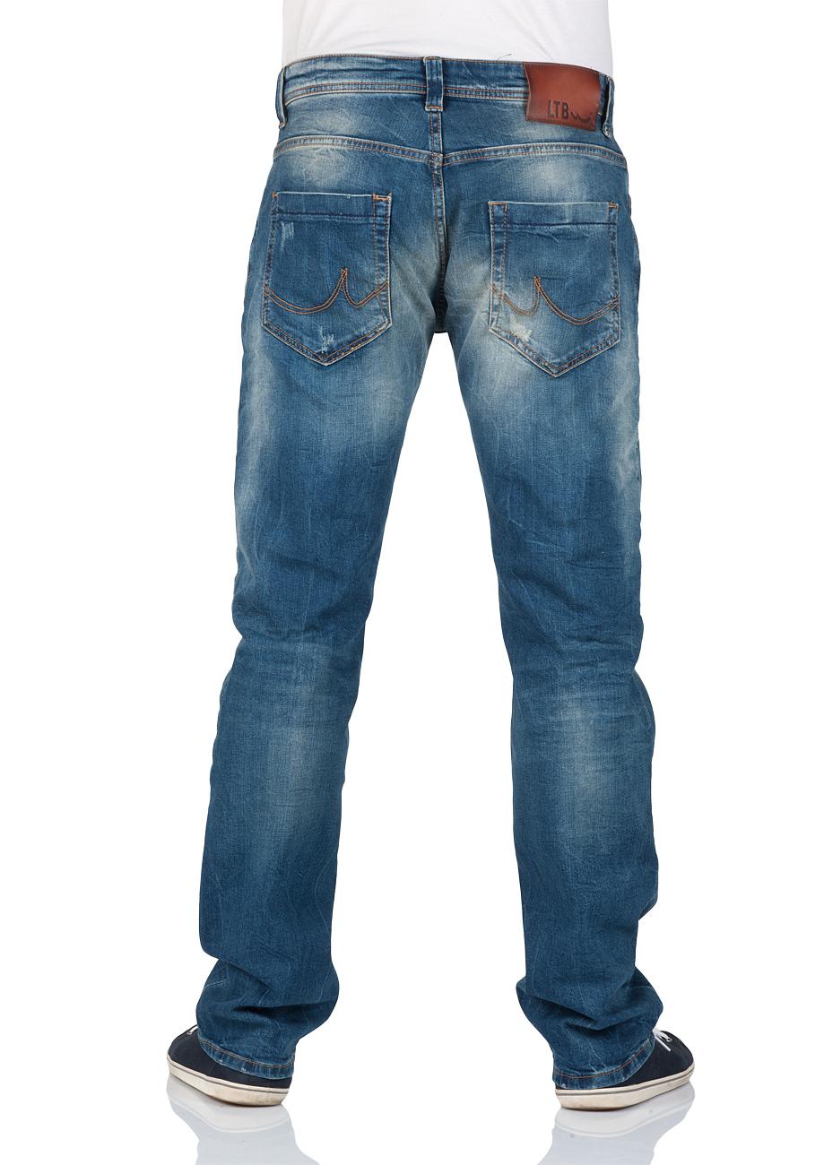 ltb herren jeans hollywood slim straight blau timor. Black Bedroom Furniture Sets. Home Design Ideas