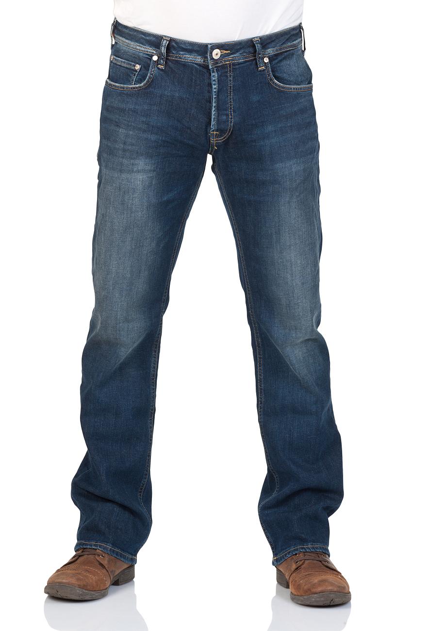 LTB Herren Jeans Paul - Straight Fit - Blau - Springer Wash