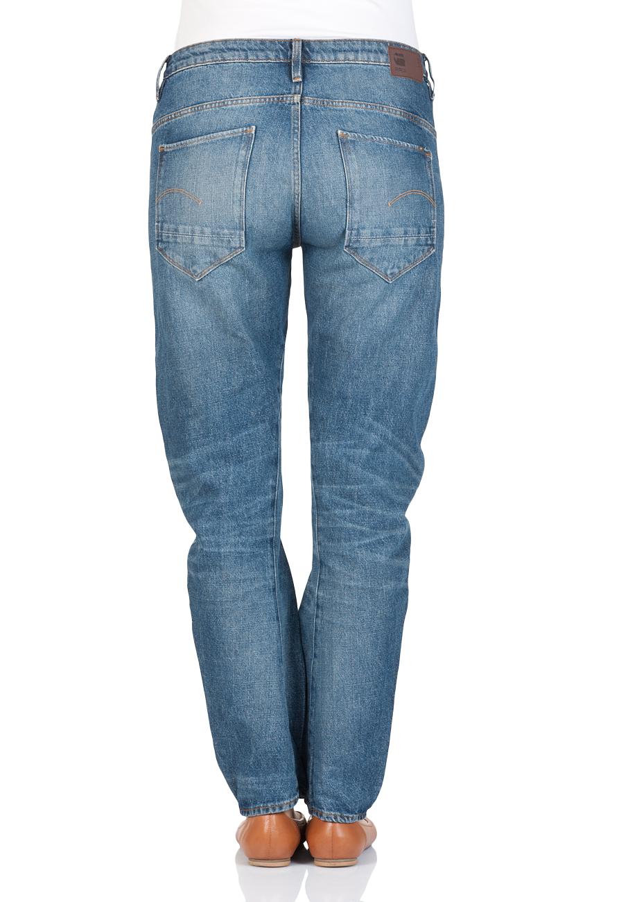 g star damen jeans arc 3d low boyfriend medium aged. Black Bedroom Furniture Sets. Home Design Ideas