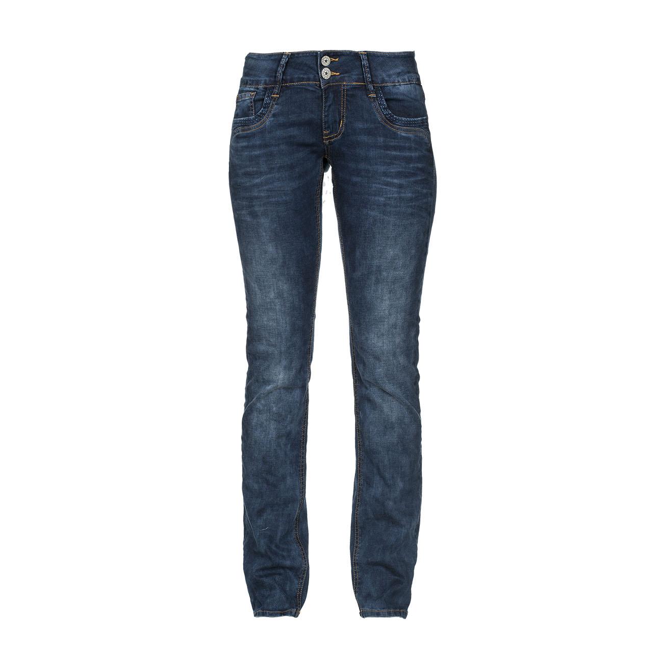 m o d damen jeans larissa straight leg blau brake blue kaufen jeans direct de. Black Bedroom Furniture Sets. Home Design Ideas