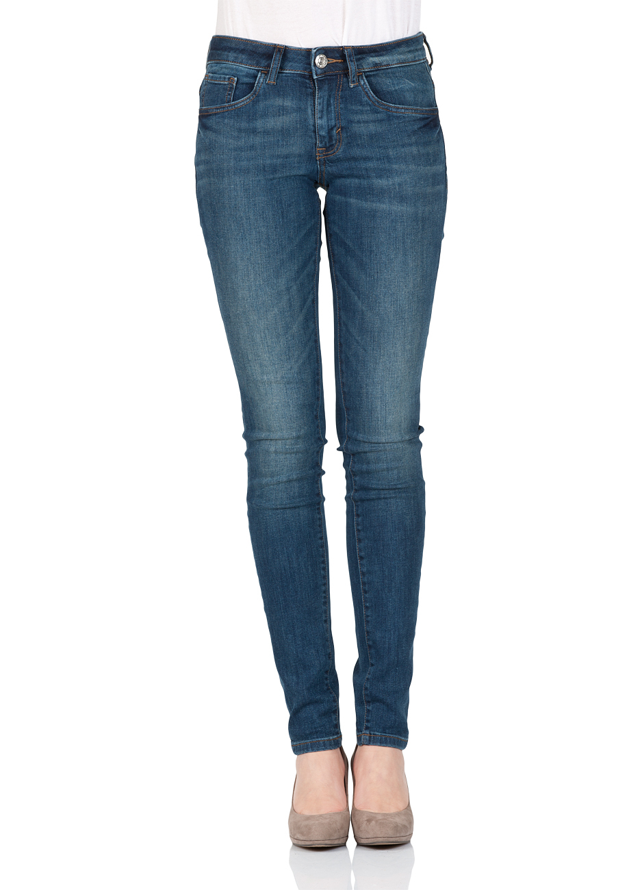 tom tailor damen jeans skinny alexa skinny fit blau