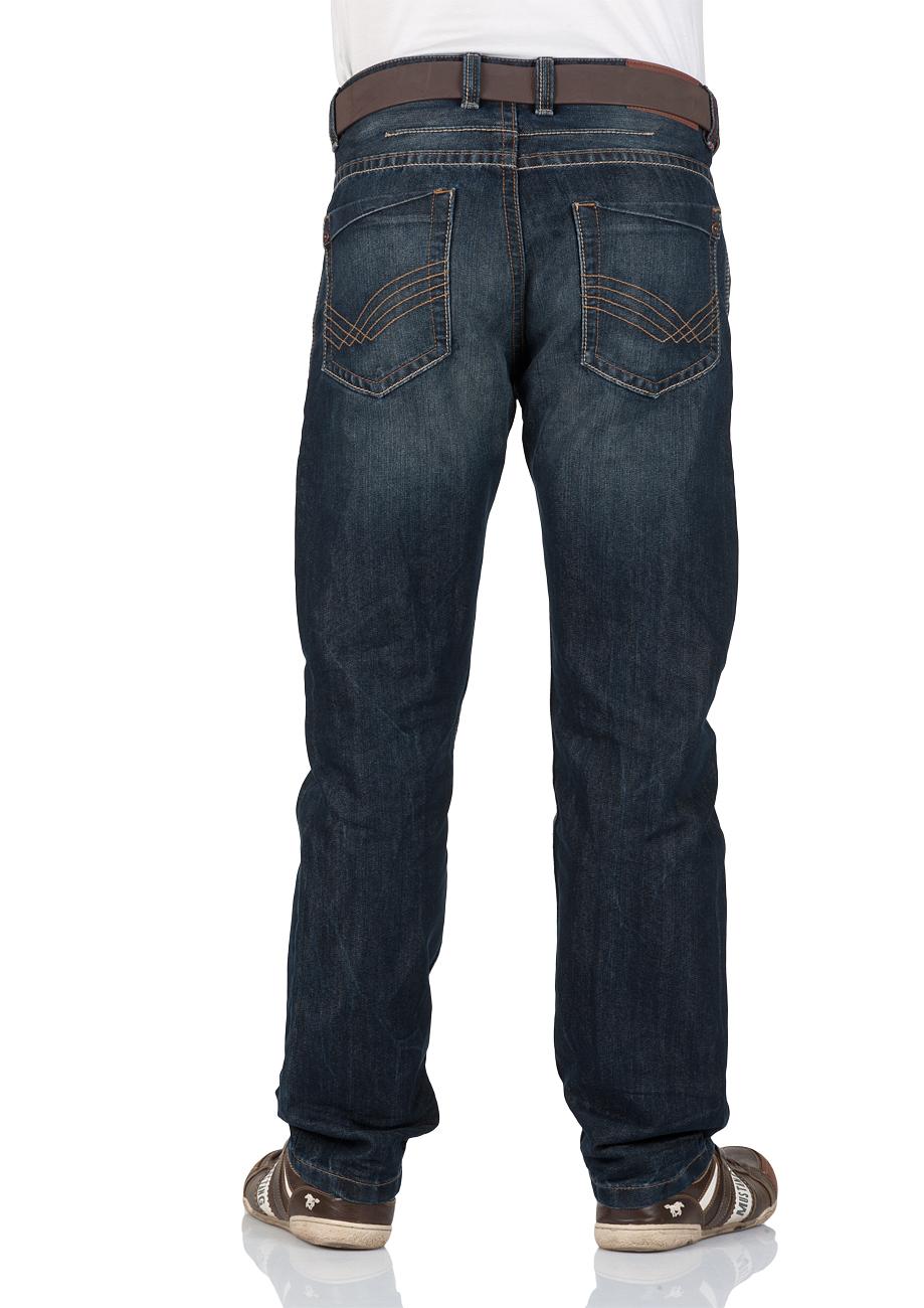 tom tailor herren jeans trad relaxed fit blau dirty dark stone wash kaufen jeans direct de. Black Bedroom Furniture Sets. Home Design Ideas