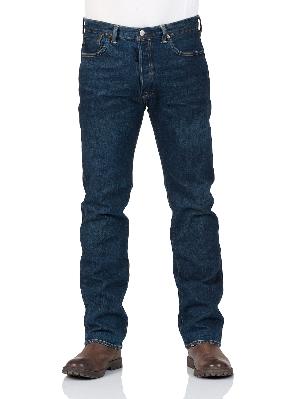levi 39 s herren jeans 501 original fit blau tucker ebay. Black Bedroom Furniture Sets. Home Design Ideas
