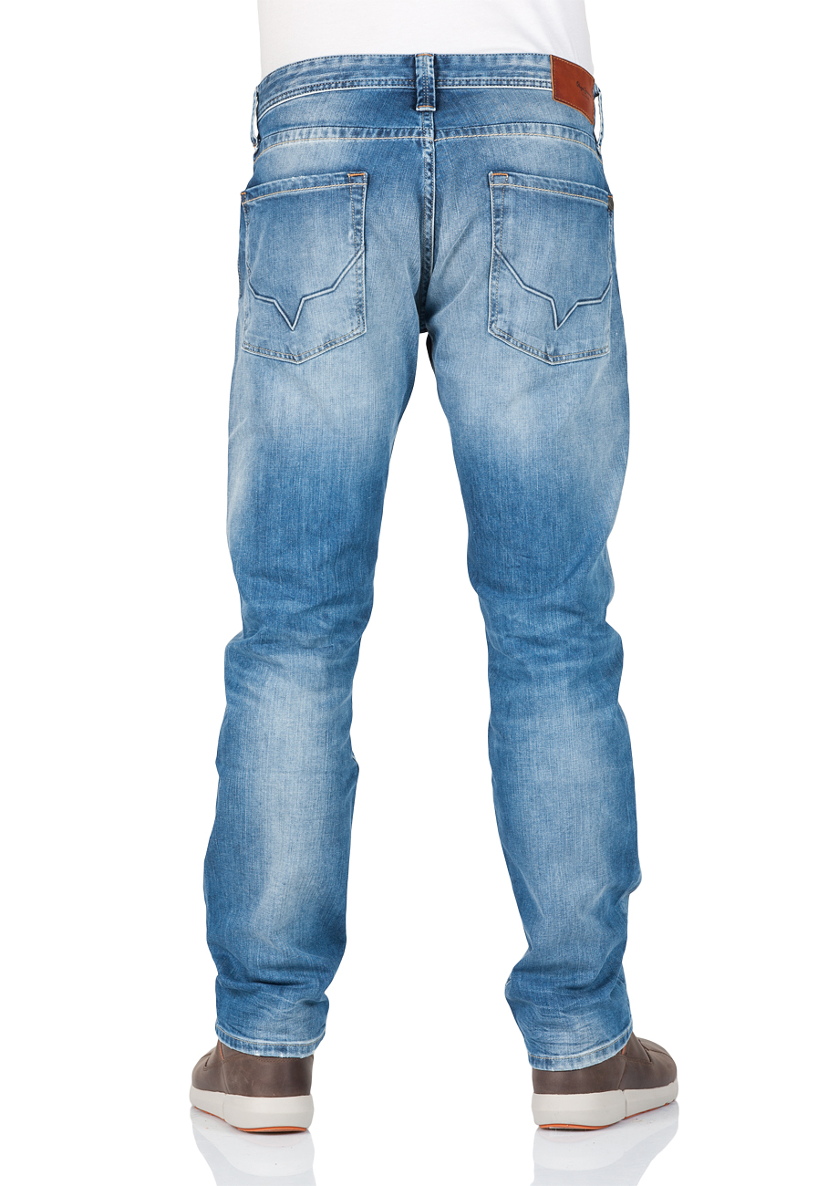 pepe jeans herren jeans cash regular fit streaky vintage used ebay. Black Bedroom Furniture Sets. Home Design Ideas