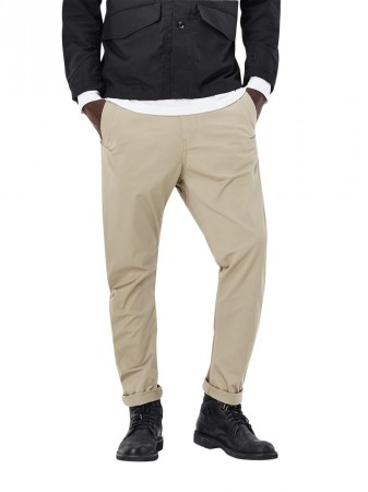 5063fcbed1 G-STAR Men's Trousers Bronson Tapered Chinos - Beige - Dune | eBay