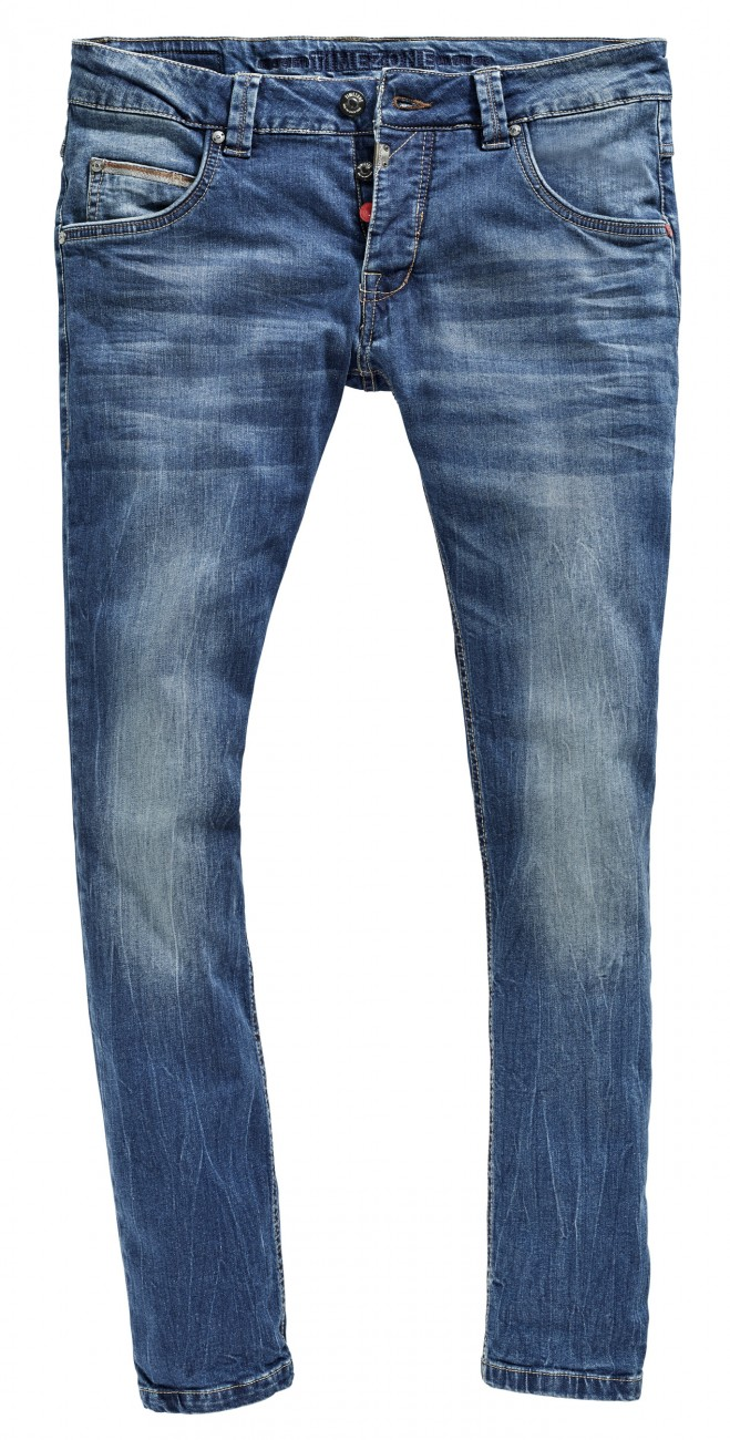 timezone herren jeans slim edo slim fit blau cross. Black Bedroom Furniture Sets. Home Design Ideas