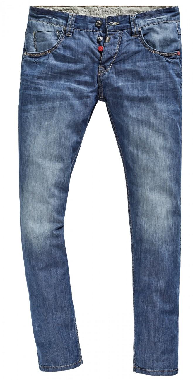 timezone herren jeans slim eduardo slim fit blau. Black Bedroom Furniture Sets. Home Design Ideas