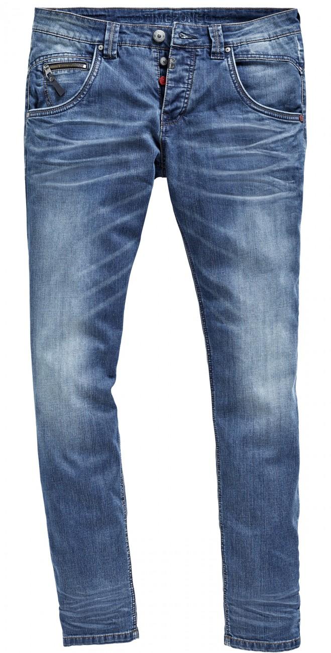 timezone herren jeans regular harold regular fit blau. Black Bedroom Furniture Sets. Home Design Ideas